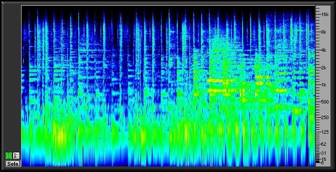 content spectragram - SpectraFoo Standard