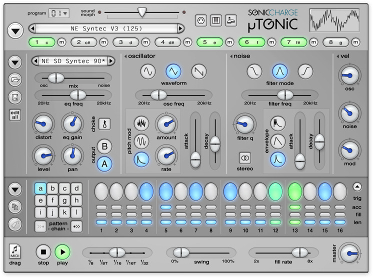 content microtonic gui - Sonic Charge Complete Bundle