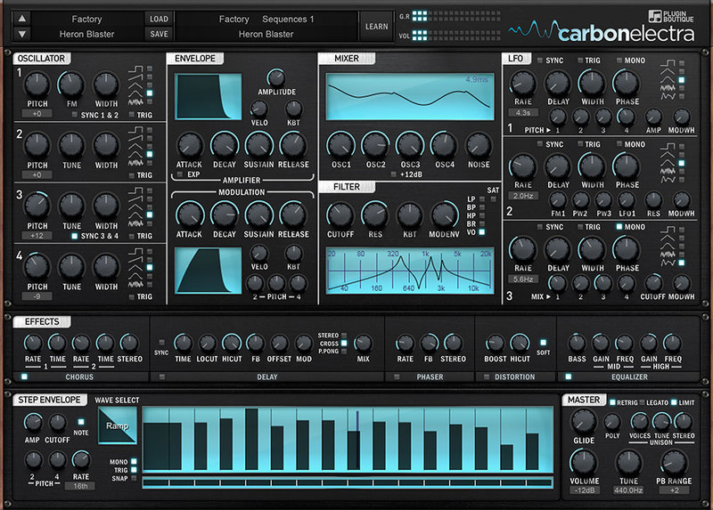 Plugin Boutique Carbon Electra