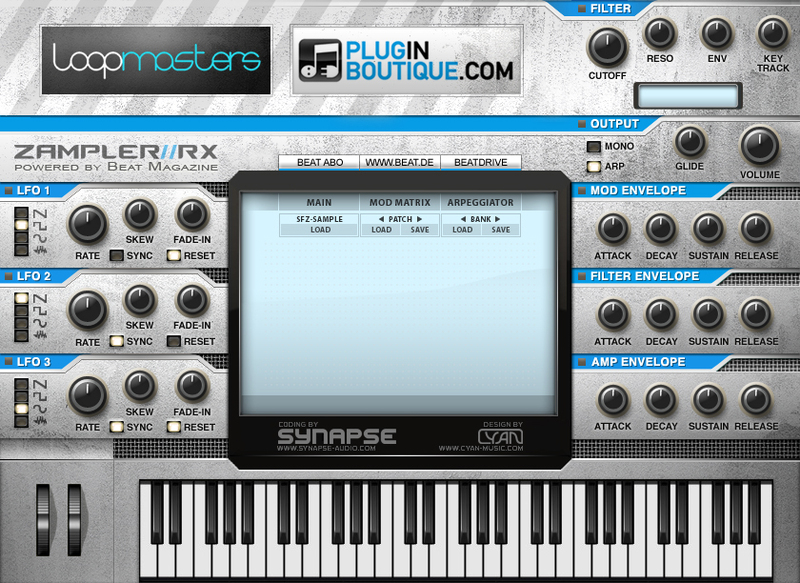 Plugin Boutique Zampler