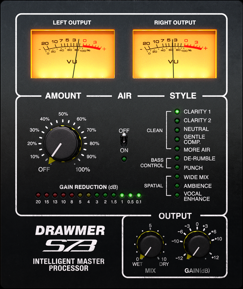 Softube Drawmer S73 at Plugin Boutique