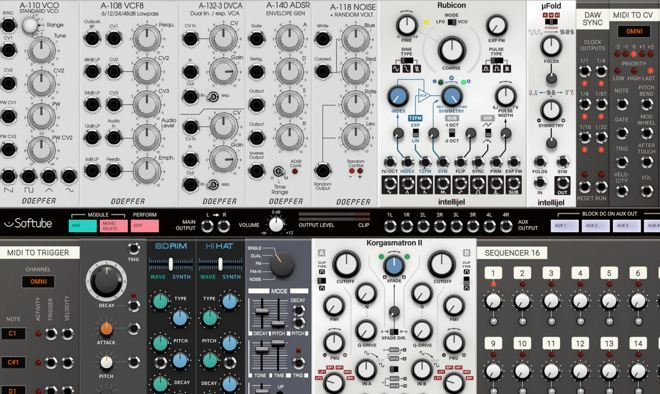 content modular softube synth pluginboutique - Softube Volume 1 Upgrade from Trident A-Range