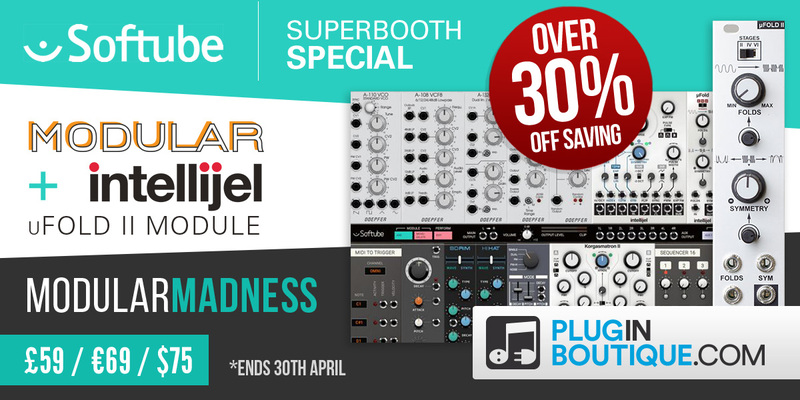 Softube Modular SuperBooth Special at Plugin Boutique
