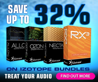 iZotope Studio Bundle Sale