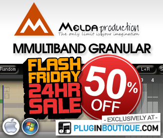 50% off MMultiband Granular Flash Friday