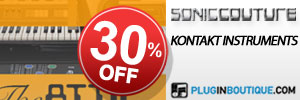 Soniccouture Introductory Sale