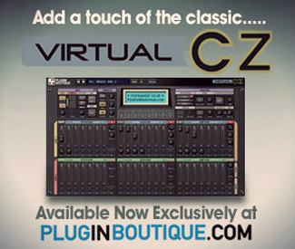 VirtualCZ now available exclusively at Plugin Boutique