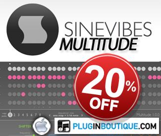Sinevibes Multitude 20% off sale!