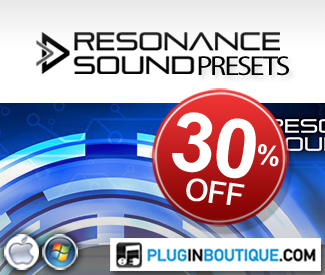 We've teamed up with Resonance Sound to offer 30% off their soft synth preset packs throughout the Halloween period.