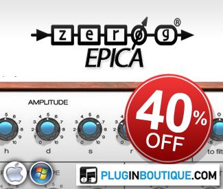 Zero-G's EPICA Kontakt Instrument is currently 40% off in store!
