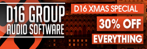 D16 Group 30% off Christmas Sale