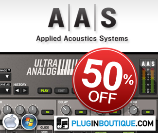 All Applied Acoustics Systems Synths are currently 50% off in store.