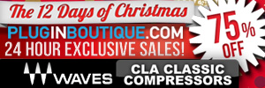 Waves CLA Classic Compressors Exclusive 12 Days of Christmas