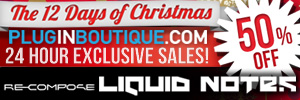 ReCompose Liquid Notes Exclusive 12 Days of Christmas
