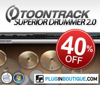 ToonTrack Superior Drummer Sale