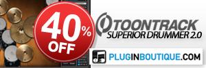 ToonTrack Superior Drummer 2.0 Sale