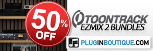 ToonTrack EZMix 2 Bundles Sale