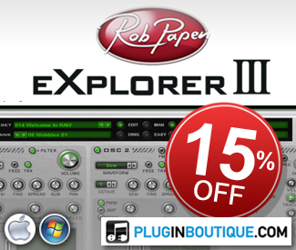 Rob Papen 15% off sale