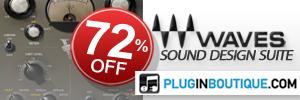 Waves Sound Design Suite Sale