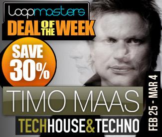 Loopmasters Deal Of The Week - Timo Maas