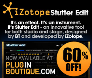 iZotope Stutter Edit Sale