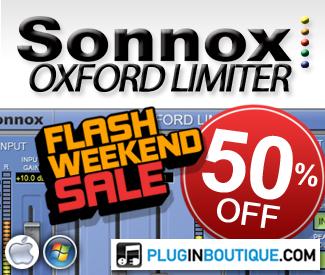 Sonnox Limiter 50% Sale