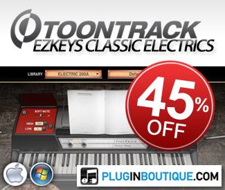 Toontrack EZkeys Classic Electrics Sale