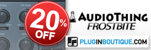 AudioThing Frostbite Introductory Sale
