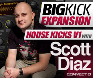 BigKick Expansion V4 - House Kicks with Scott Diaz