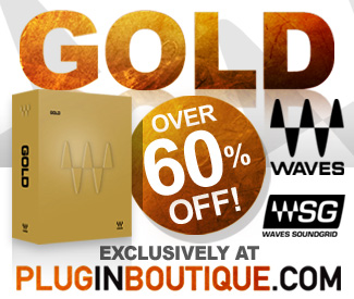 Waves Gold 64% off Sale