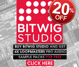 Bitwig Studio Sale