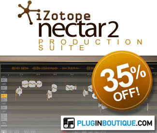 iZotope Nectar 2 Production Suite 35% Sale