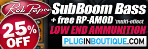 Rob Papen SubBoom Bass Summer Sale