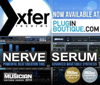 Xfer Records Serum and Nerve now available at Plugin Boutique