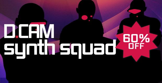 FXpansion DCAM Synth Squad 60% off Summer Sale