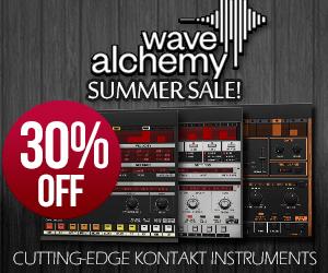 Wave Alchemy Kontakt Instrument Summer Sale