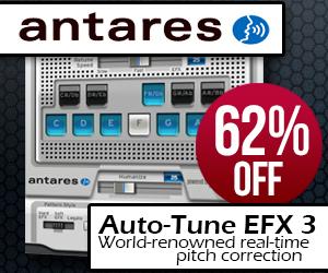 Antares Auto-Tune EFX3 Sale