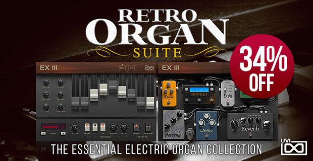 UVI Retro Organ Suite Introductory Sale