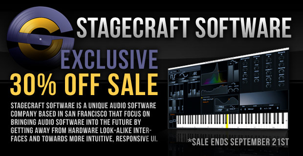 Stagecraft Soundware Summer Sale