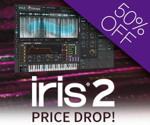 iZotope IRIS 2 Price Drop