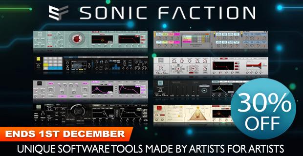 Sonic Faction Black Friday Sale