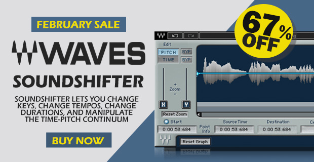 Waves sound shifter 620