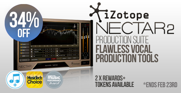 iZotope Nectar 2 Production Suite Sale