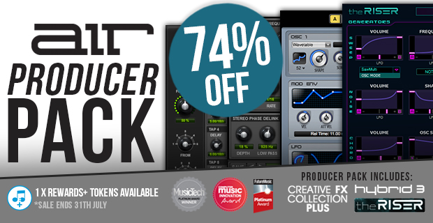Air Music Producer Pack Deal of the week