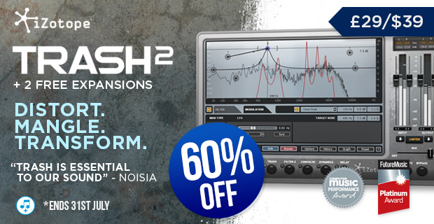iZotpe Trash 2 Sale at Plugin Boutique