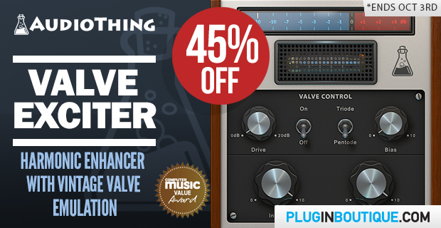 Audiothing Valve Exciter Deal of the week sale