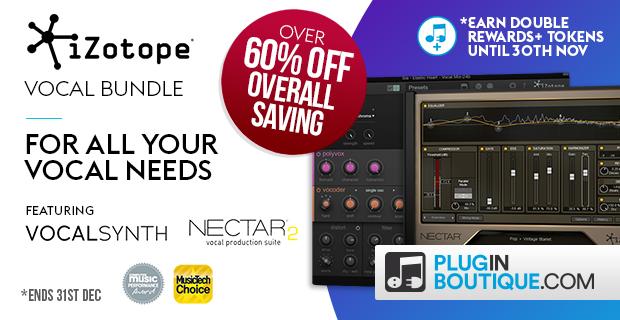 iZotope VocalBundle Sale: Save 25% off at Plugin Boutique