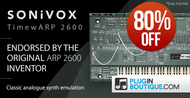 SONiVOX TimewARP 2600 (5th Anniversary Exclusive)