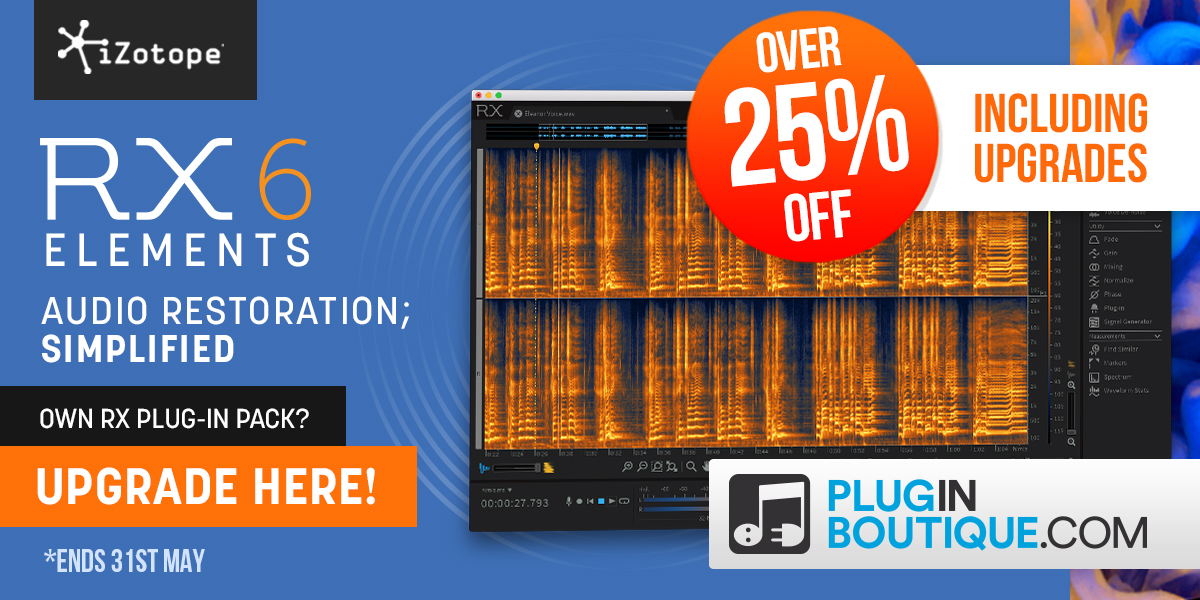 iZotope RX 6 Elements Sale