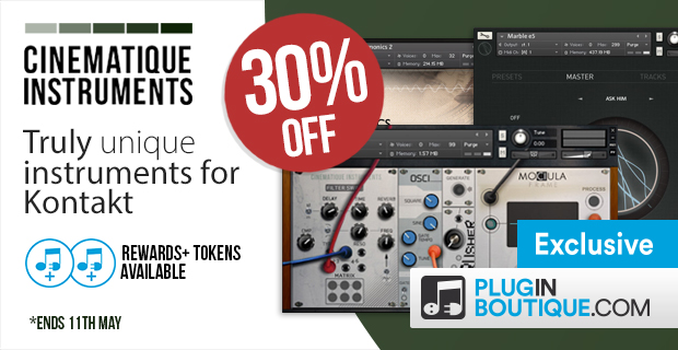 Cinematique Instruments Introductory Sale (Exclusive)